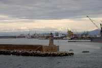 Entrance to Port in Livorno